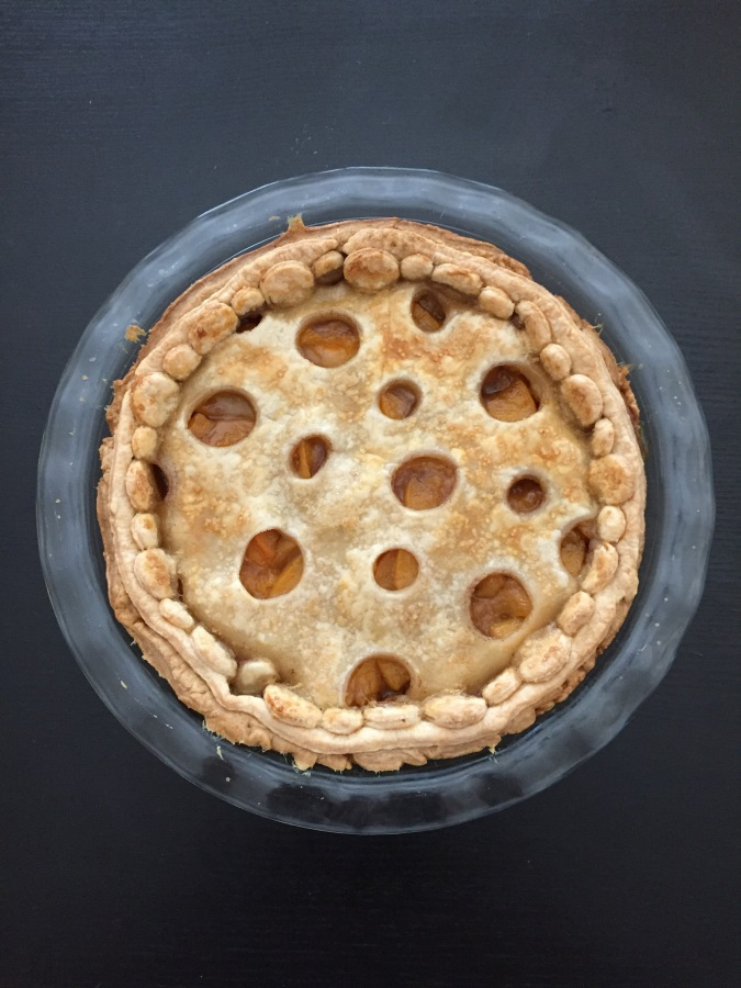Week 4: Life's Just Peachy-Keen Polka-Dot Peach Pie