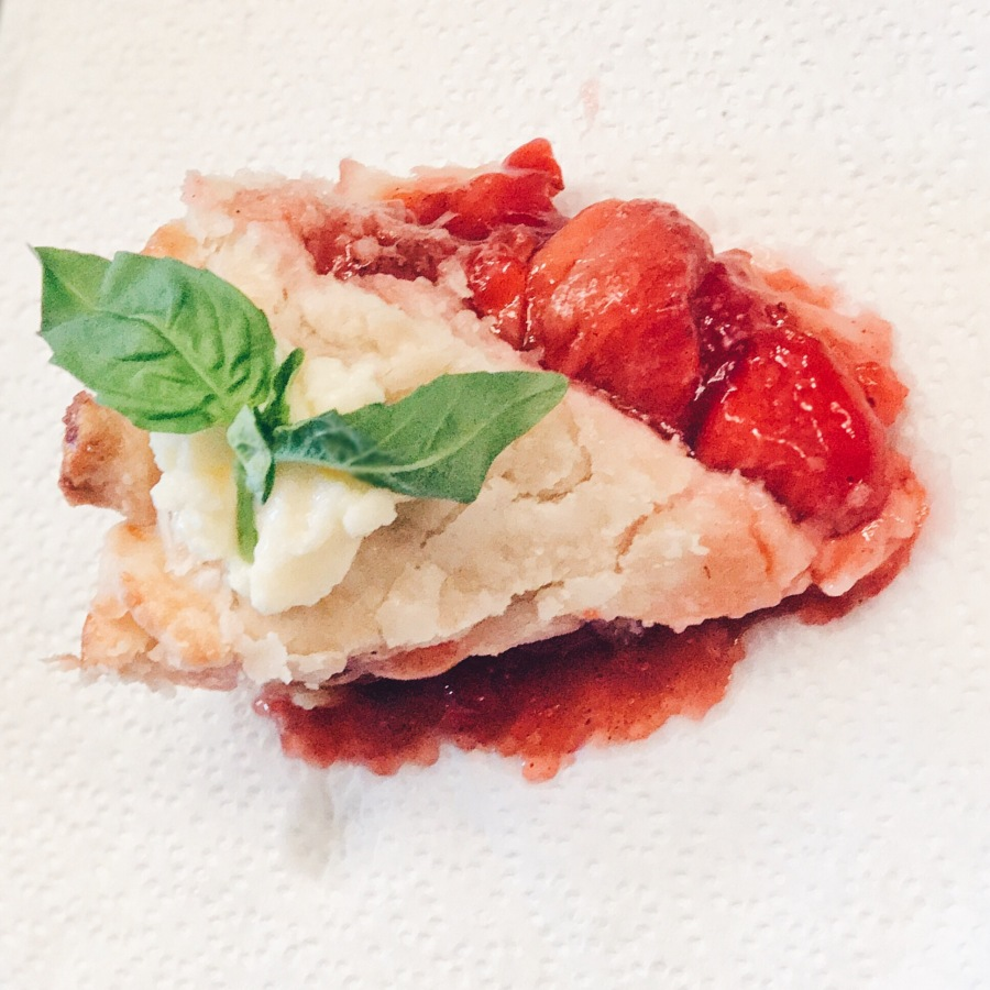 Week 7: Big Guy Strawberry Pie