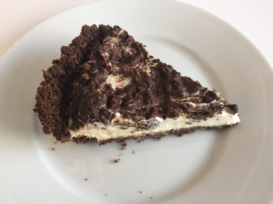 Week 8: I Can't Have an Affair Because It's Wrong (and I Don't Want Earl to Kill Me) Marbled Chocolate Cheesecake Pie