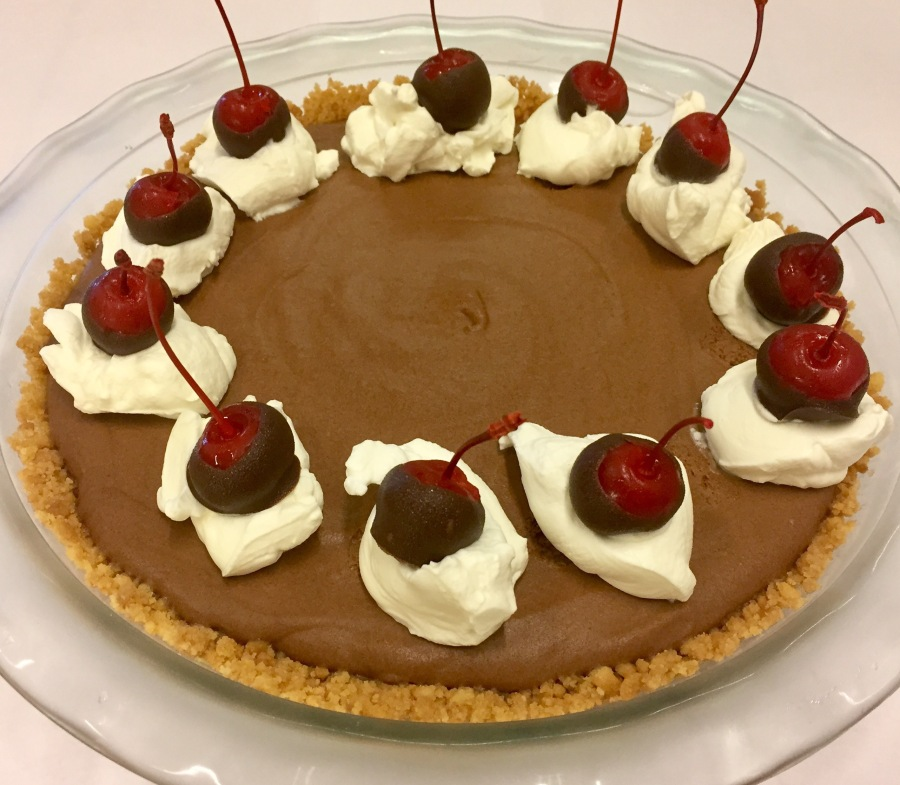 Week 9: I Wanna Play Doctor with My Gynecologist Chocolate Mousse Pie