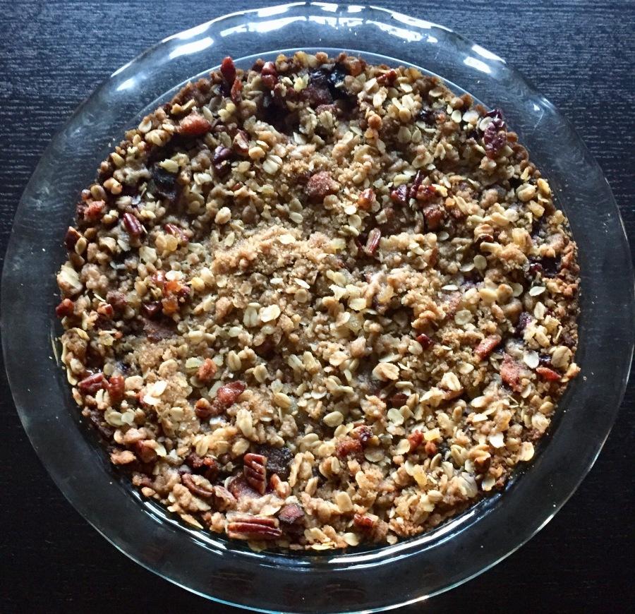 Week 17: Deep Dish Blueberry-BaconPie