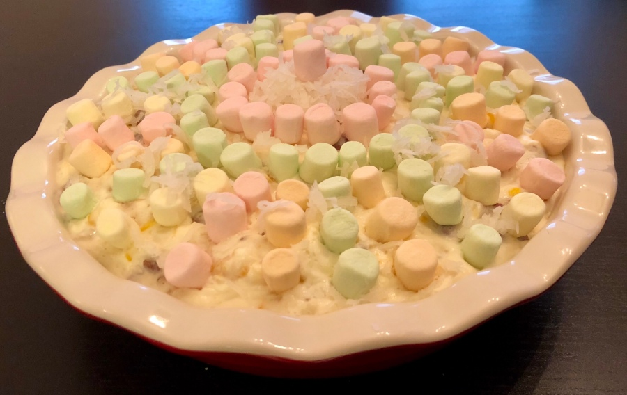 Week 28: Mermaid Marshmallow Pie
